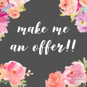 Happy to accept reasonable offers😀